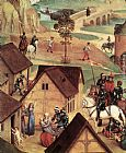 Hans Memling Advent and Triumph of Christ [detail 1] painting